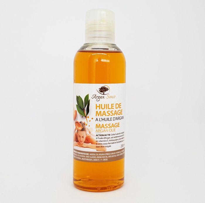 huile de massage argan argane souss 200 ml