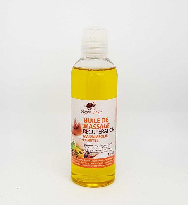 huile de massage récupération bio 200 ml