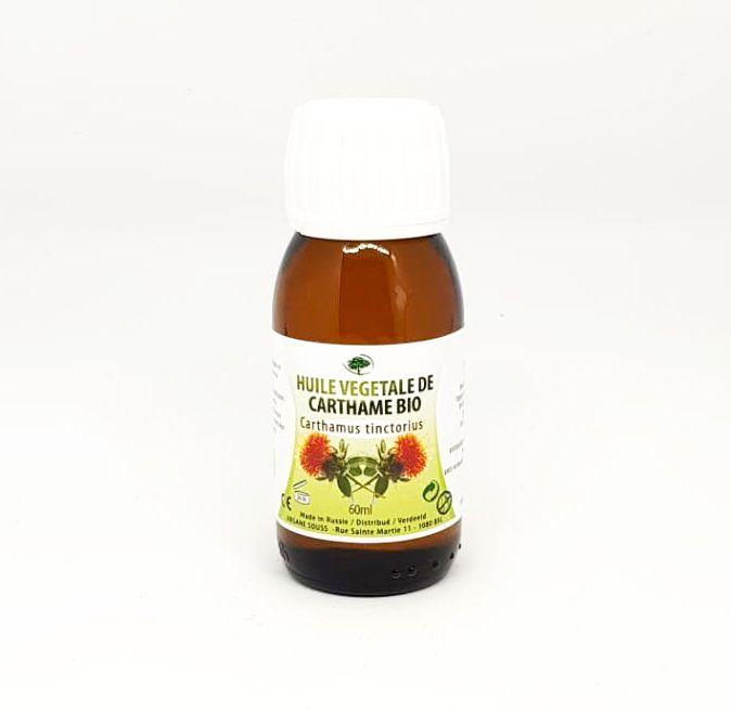 Huile végétale de carthame bio 60 ml