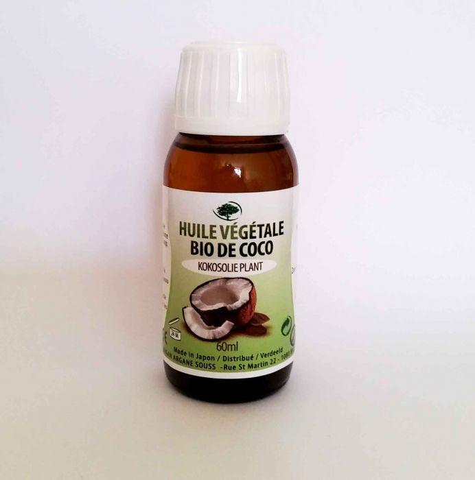 HUILE VEGETALE VIERGE DE COCO 60 ML