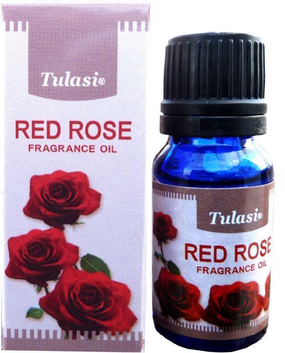 Huile parfumée tulasi rose rouge 10mL