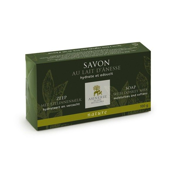 Soap with donkey milk - Nature 100g