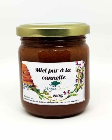 Miel pur à  la cannelle