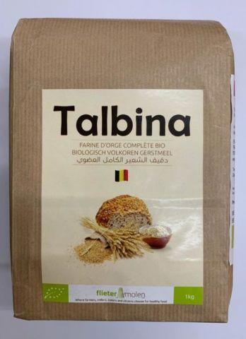 Talbina Bio Farine d'orge complète 1kg