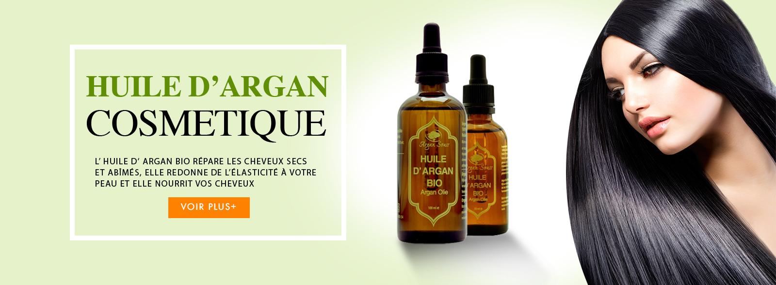HUILE D' ARGAN POUR MES CHEVEUX