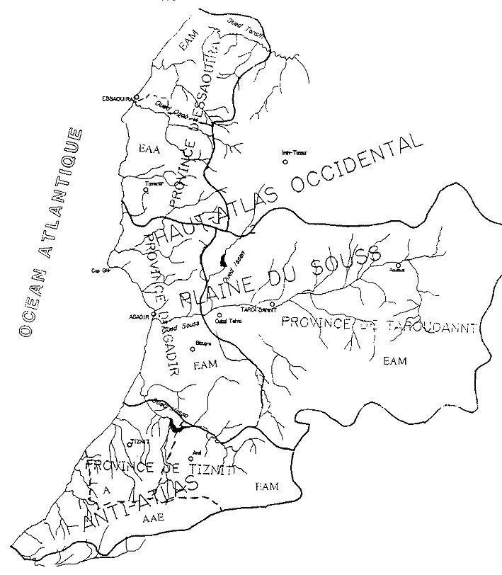 région arganeraies